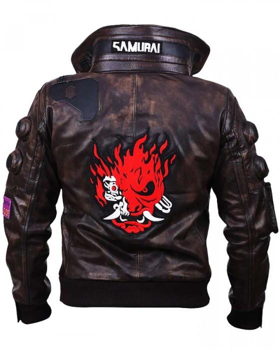 Cyberpunk 2077 Samurai Leather Jacket