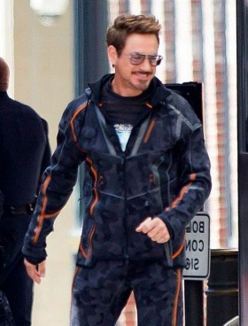 Avengers Infinity War Robert Downey Jr Jacket Avengers
