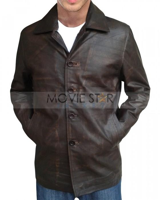 dean winchester supernatural leather coat