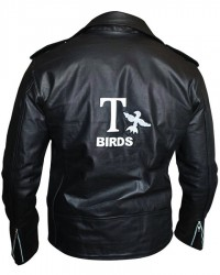 John Travolta Grease T Birds Black Jacket