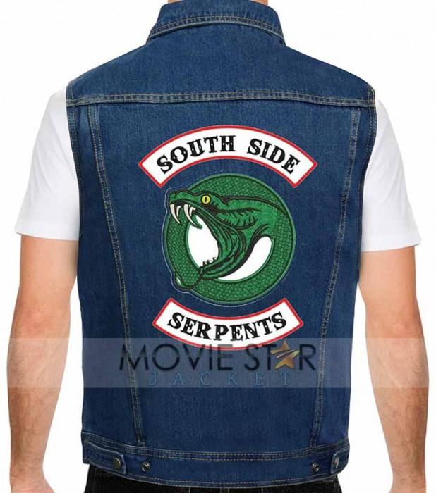 southside serpents denim jacket