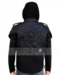 Prototype 3 Black Leather Jacket