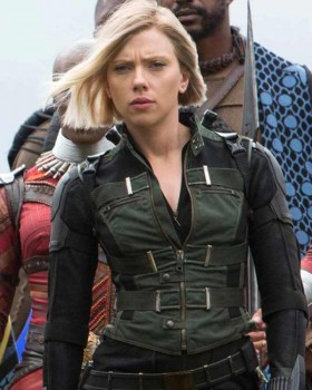 Avengers Infinity War Black Widow Vest