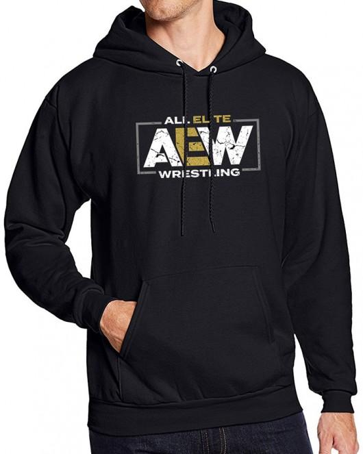 All Elite Wrestling AEW Logo Hoodie