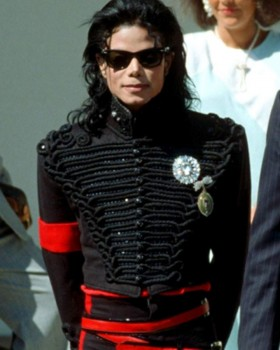 Micheal Jackson White House 2nd Visit Military Jacket