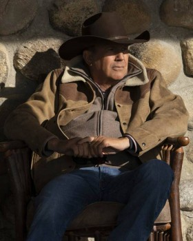 Yellowstone Season 3 Kevin Costner Brown Jacket