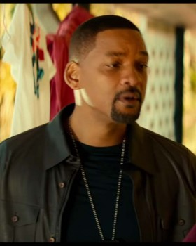 Bad Boys 3 Will Smith Leather Jacket