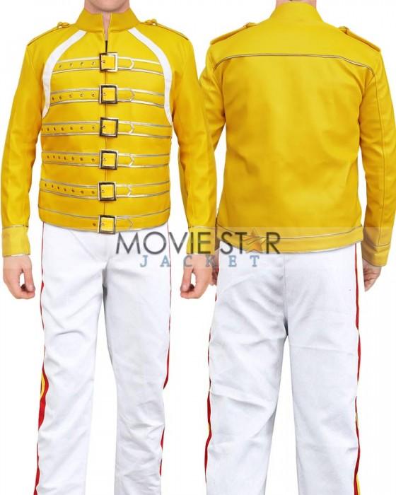 Queen Freddie Mercury Cosplay Costume