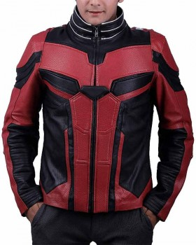 Avengers Endgame Ant-Man Leather Jacket