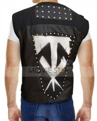 Wrestlemania 36 The Undertaker Black Leather Vest