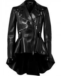 Umbrella Academy Season 1 Episode 3 Allisons Peplum Leather Jacket