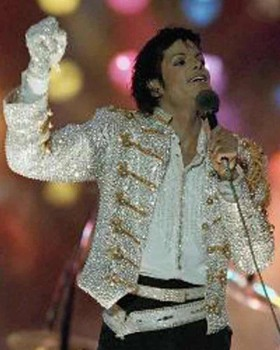 Michael Jackson Victory Tour Jacket Multi-Color
