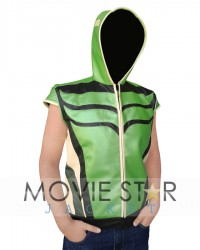 Green Arrow Smallville Leather Vest