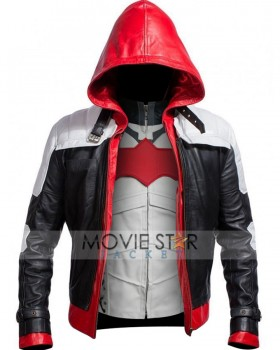 Batman Arkham Leather Jacket