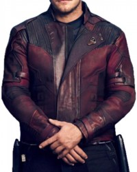 avengers infinity war peter quill jacket