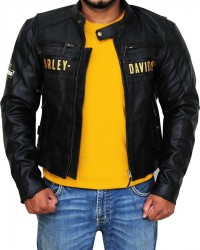 Harley Davidson Men's Passing Link Triple Vent Jacket