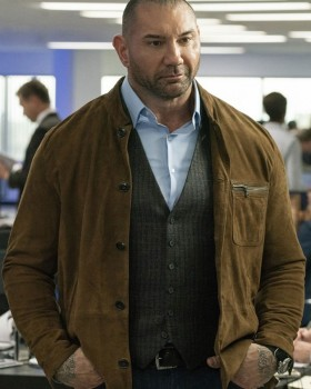 Dave Bautista My Spy Jacket