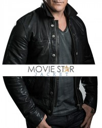 Chris Jericho Black Leather Jacket