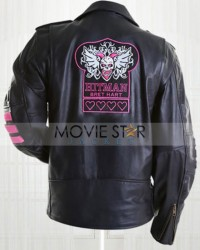 Bret Hart Hitman Jacket Leather