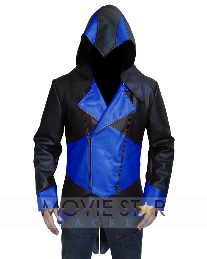 Assassins Creed 3 Jacket Blue And Black Assassins Creed Costume