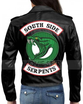 Riverdale Toni Topaz Serpents Jacket