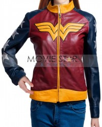 Adrianne Palicki Wonder Jacket Woman