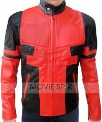 Deadpool Wade Wilson Red Jacket