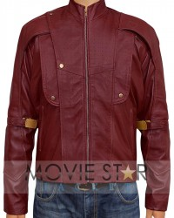 Guardians Of The Galaxy Chris Pratt Red Jacket
