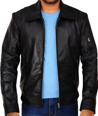 Faster Movie Dwayne Johnson Leather Jacket