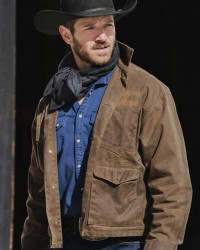 Ian Bohen Yellowstone S03 Ep 09 Ryan Jacket