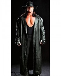 Dead Man The Undertaker Long Leather Coat