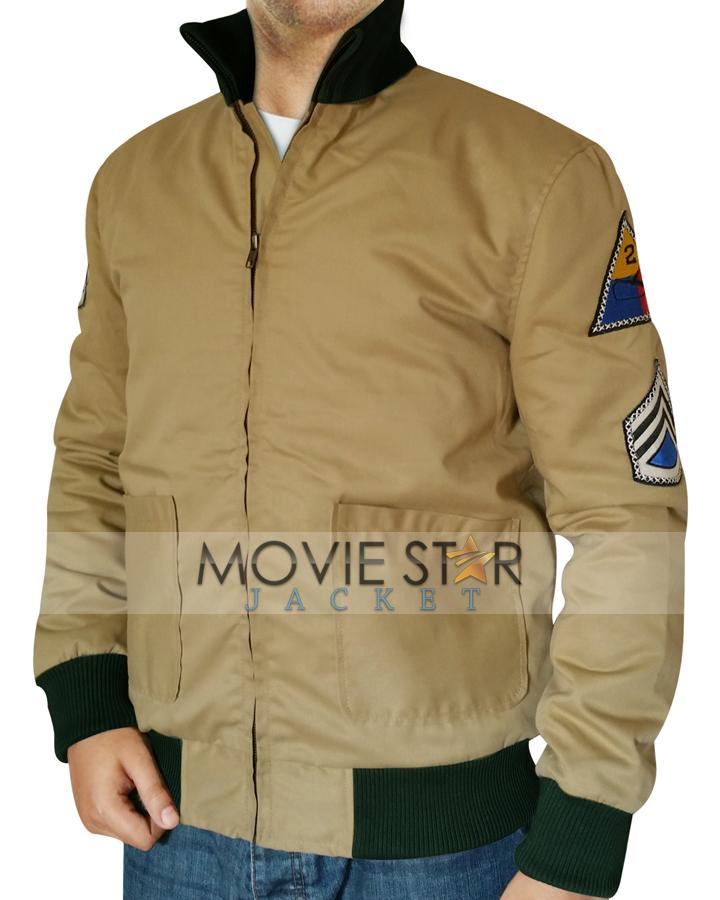 Fury Brad Pitt Jacket - Moviestarjacket