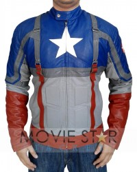 The First Avenger 2011 Captain America Jacket