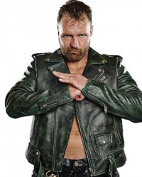 AEW Jon Moxley Leather Jacket