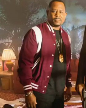 Bad Boys 3 Martin Lawrence Letterman Jacket