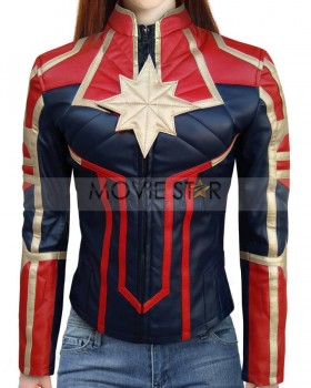 Avengers Endgame Captain Marvel Costume Jacket