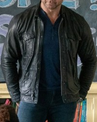 Dave Bautista My Spy JJ Leather Jacket