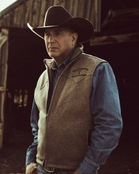 Kevin Costner Yellowstone S03 John Dutton Vest