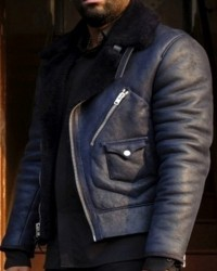 24 Legacy Bashy Black Fur Lining Jacket