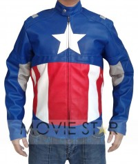 Avengers 2012 Captain America Jacket