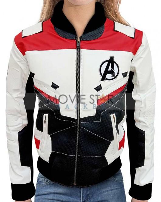 avengers endgame quantum realm jacket for women