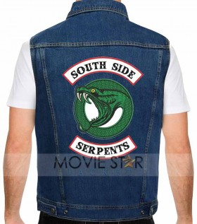 southside serpents denim jacket