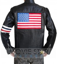 Captain America Easy Rider USA Flag Jacket