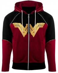 DC Comics Wonder Woman Logo Hoodie