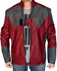 Avengers Endgame Iron Man Leather Jacket