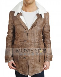 Dark Knight Rises Real Leather Bane Coat