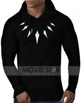 black panther necklace hoodie