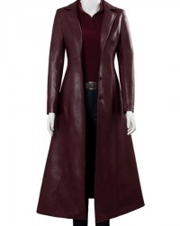 Dark Phoenix Jean Grey Maroon Coat
