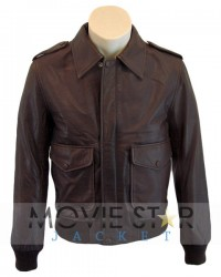 1930 Classic Bomber Leather Jacket