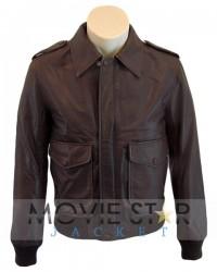 1930 Classic Bomber Leather Jacket